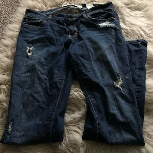 Abercrombie & Fitch Stressed Boot Cut Jeans 4R